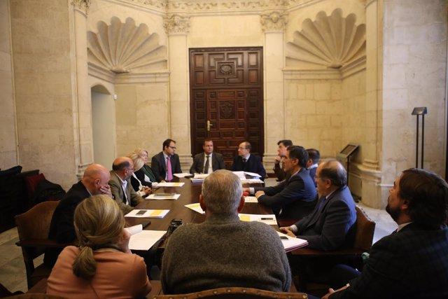 Reunión entre Ayuntamiento y CES para la movilidad