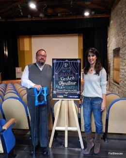 Presentación del cartel de la Muestra de Teatro Amateur de Biescas