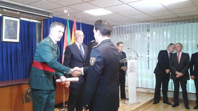 El delegado del Gobierno en el País Vasco, Carlos Urquijo,  dia constitucion
