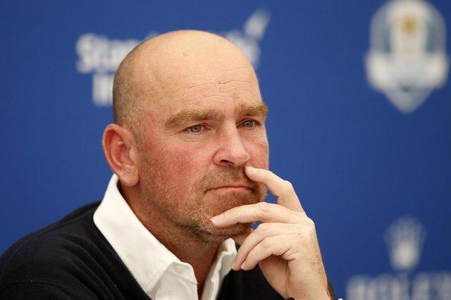 Thomas Bjorn, capitán europeo de Copa Davis