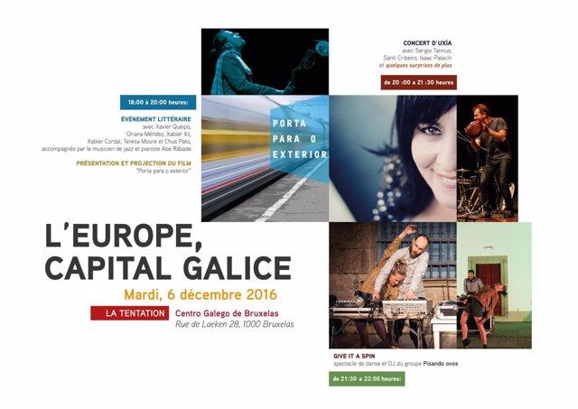 Jornada de cultura gallega en Bruselas