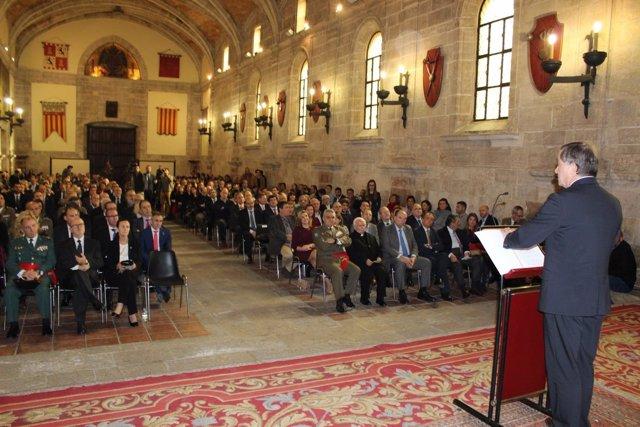 Moragues en el acto del día de la Constitución organizado por Delegación