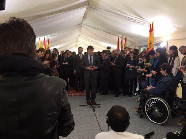 Javier Fernández, presidnete de la Gestora del PSOE