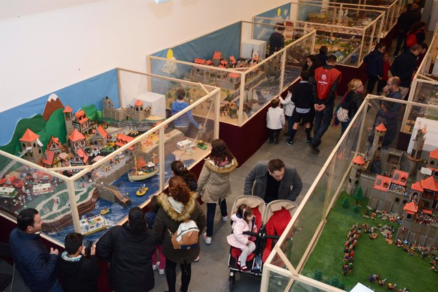El Belén y la exposición de playmobil de Tomares
