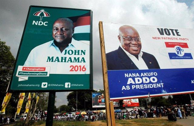 Elecciones presidenciales en Ghana