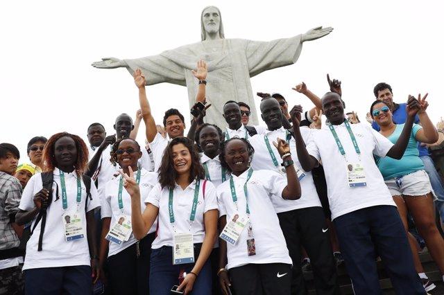 Deportistas refugiados que partciparán en los Juegos Olímpicos