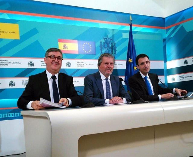 Méndez de Vigo presenta el informe PISA