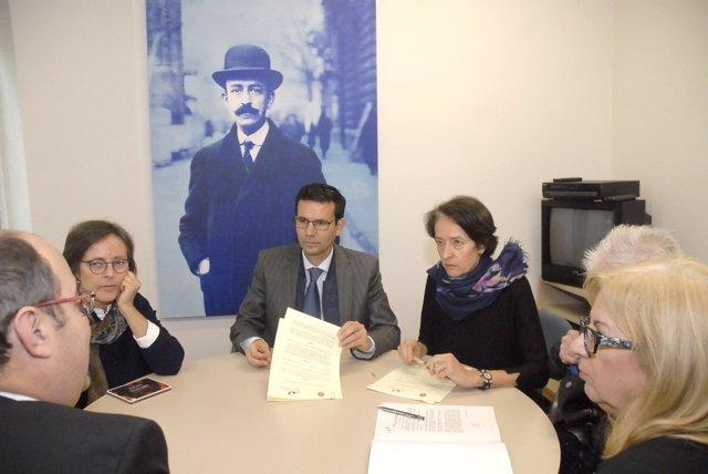 Renovación concesión de la cesión del Archivo Falla
