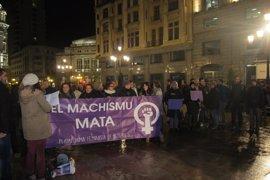 La Plataforma Feminista d'Asturies convoca este miércoles una concentración en Oviedo contra las violencias machistas