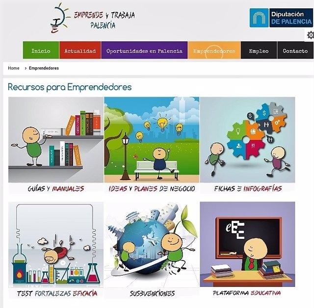 Portal 'Emprende y Trabaja en Palencia'