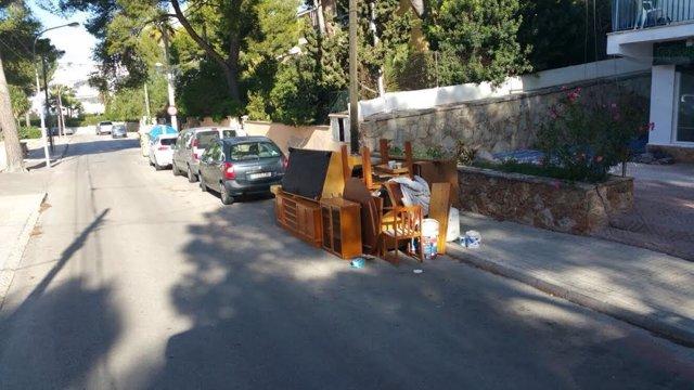 Vertidos ilegales en Calvià