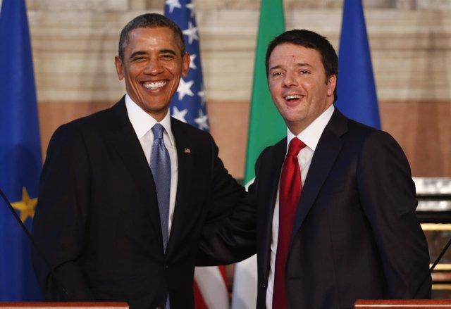 Obama y Renzi