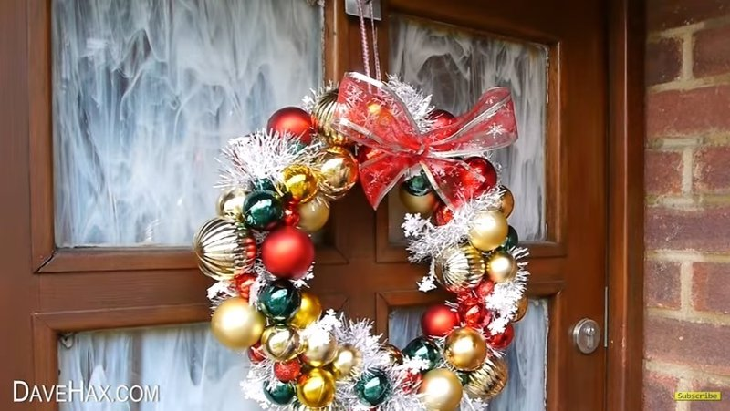 C mo hacer en cinco pasos unos bonitos y sencillos adornos for Adornos de navidad para hacer en casa