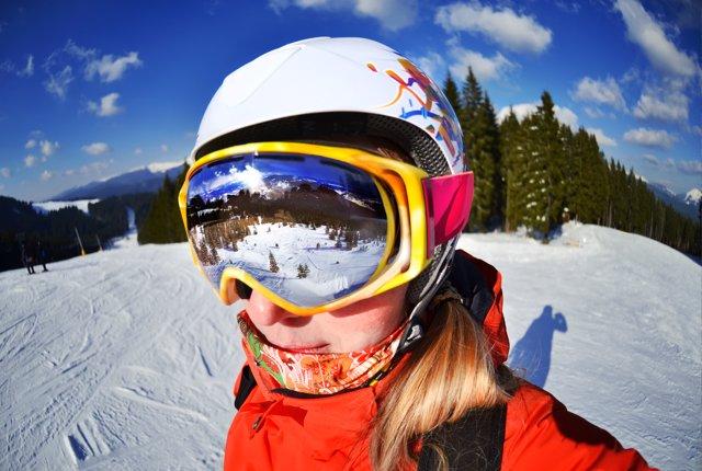 Gafas adecuadas para la nieve