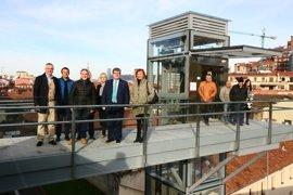 Bilbao inaugura el nuevo ascensor de Atxuri