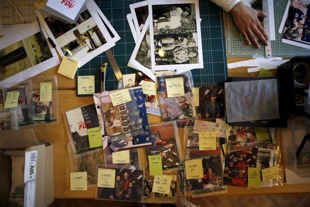 Fotos de familias separadas por la guerra de Corea