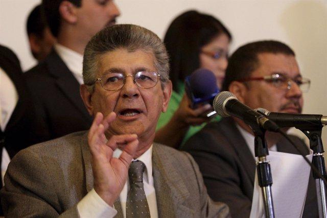 El presidente de la Asamblea Nacional de Venezuela, Henry Ramos Allup