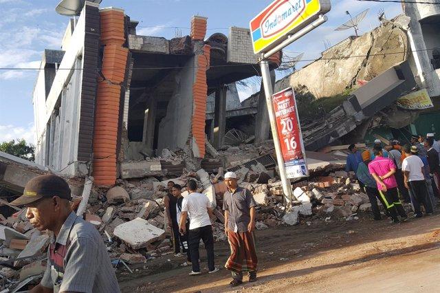Imágenes tras el terremoto en la provincia de Aceh, en el norte de Indonesia