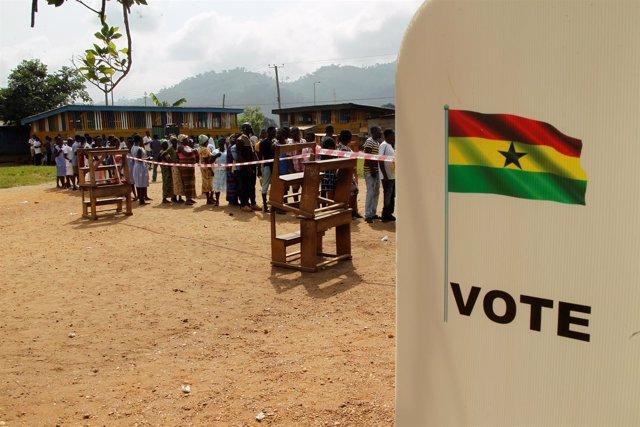 Elecciones en Ghana