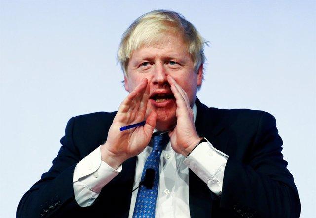 El ministro de Exteriores británico, Boris Johnson