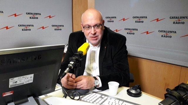 El conseller de Empresa, Jordi Baiget, en Catalunya Ràdio