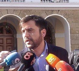 Fran González, portavoz del PSOE en el Ayuntamiento de Cádiz