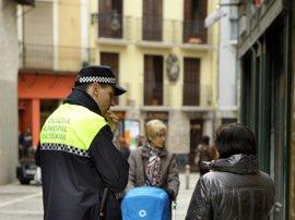 La Policía Municipal organiza un operativo especial los fines de semana previos a Navidad