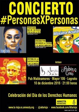 10 Diciembre Día De Los Derechos Humanos. Actos De La Campaña Personasxpersonas