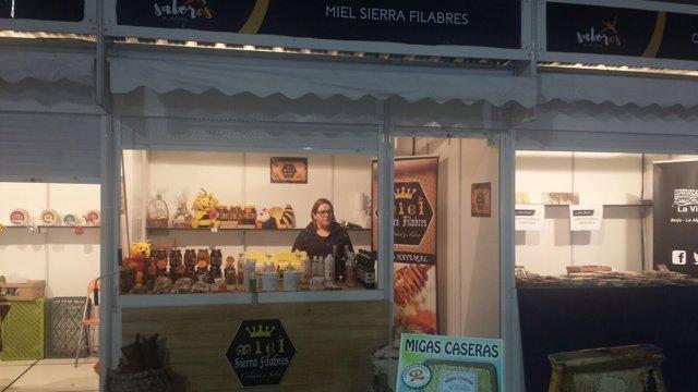 Expositor de la empresa en 'Sabores Almería'.