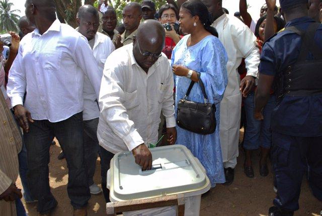 Nana Akufo-Addo, candidato a la Presidencia de Ghana