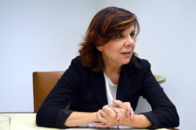 La presidenta del Consejo de Transparencia, Esther Arizmendi