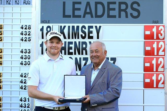 Ángel Gallardo, a la derecha, nuevo embajador del European Tour de golf