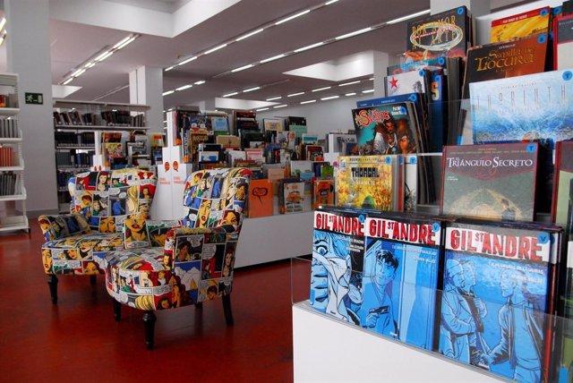Nota/La 'Comicteca' De La Biblioteca Regional Ampl Ía Sus Fondos Con Cerca De 4.
