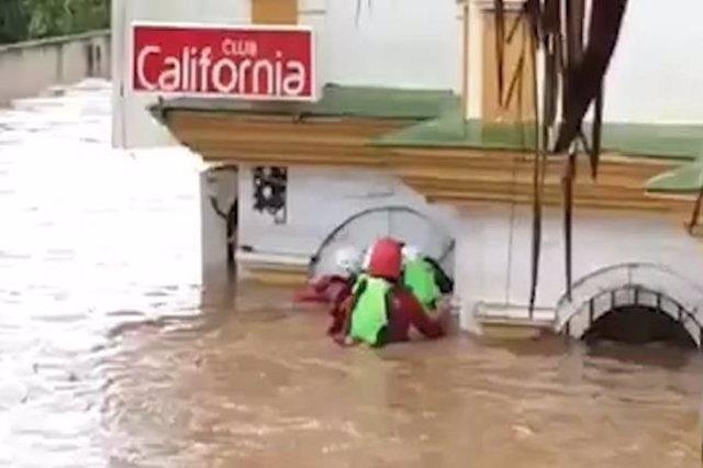 Fallece una mujer en Estepona ahogada por la inundaciones