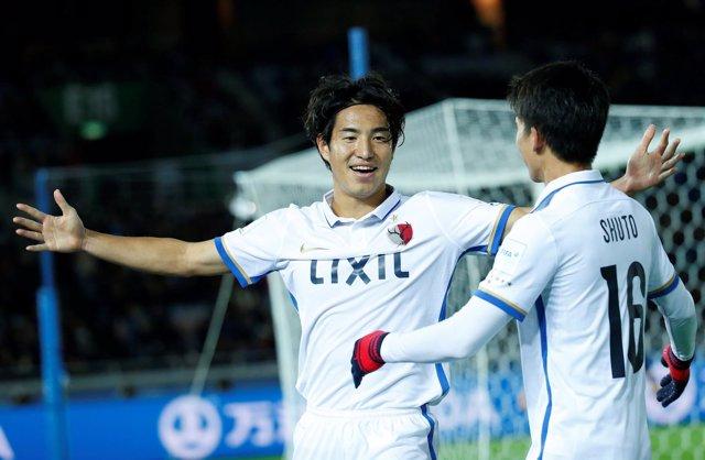 El equipo japonés Kashima Antlers en el Mundial de Clubes