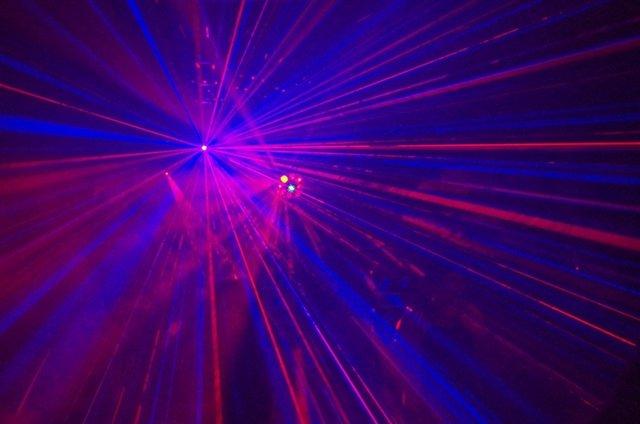 Discoteca luces música
