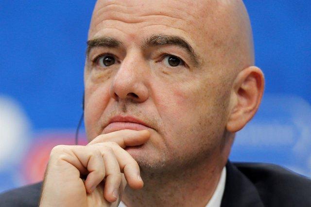 El presidente de la FIFA Gianni Infantino