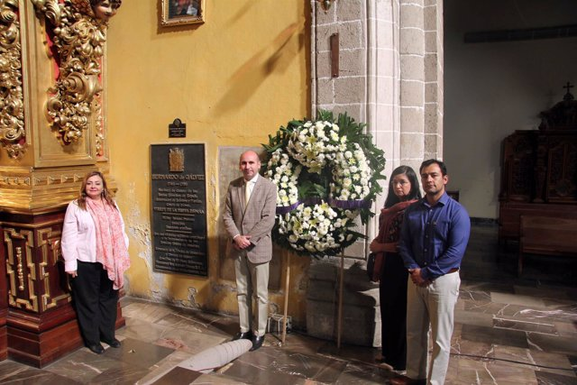 Francisco Conejo visita México Bernardo de Gálvez