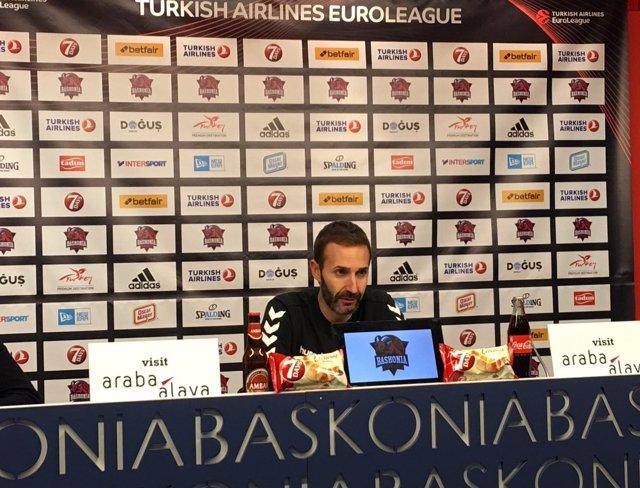 Sito Alonso, entrenador del Baskonia