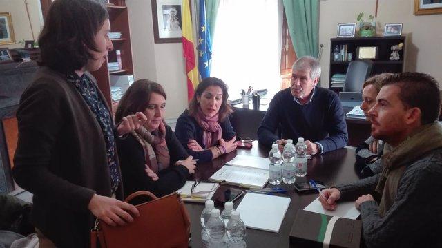 Visitas las obras del PFEA 2016 en Córdoba