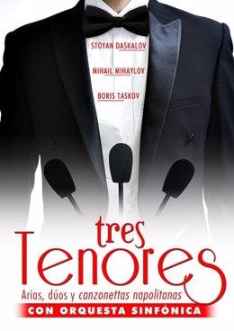 Cartel 'Tres Tenores'