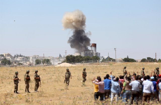 Ataque contra el Estado Islámico en Siria