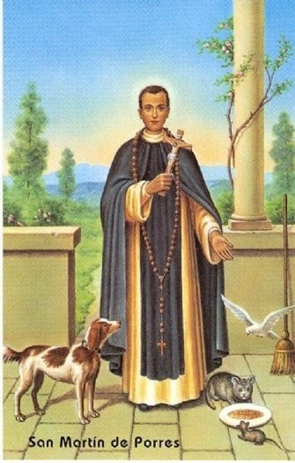 Iberoamérica recuerda a San Martín de Porres, el primer santo mulato del continente