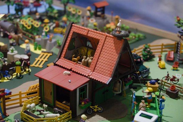 Gran Exposición Playmobil de la asociación Argar