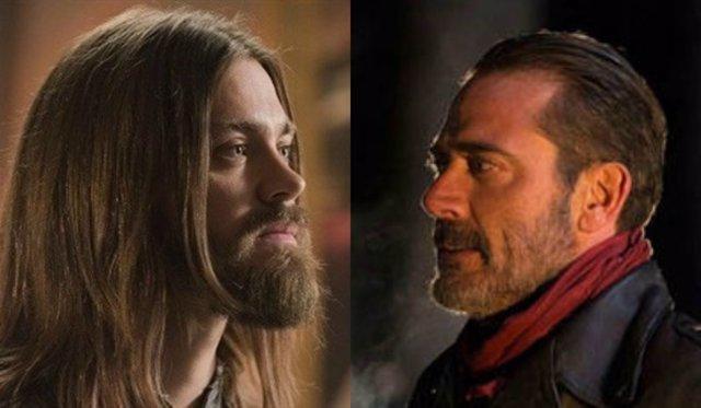 Jesús y Negan
