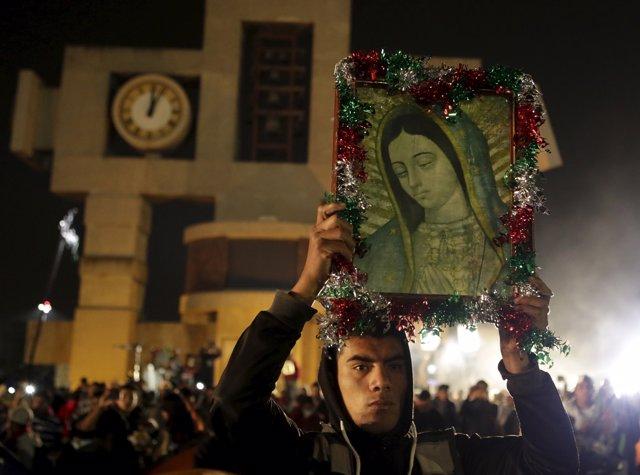 Celebración Virgen de Guadalupe