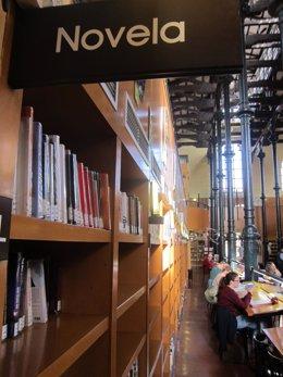 Biblioteca, libros, lectores