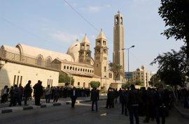 Detenidas cuatro personas en Egipto por el atentado contra la catedral copta de El Cairo
