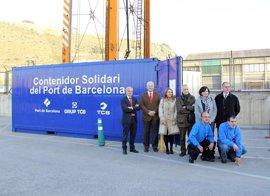 El Puerto de Barcelona arranca su campaña de recogida de alimentos y productos de higiene