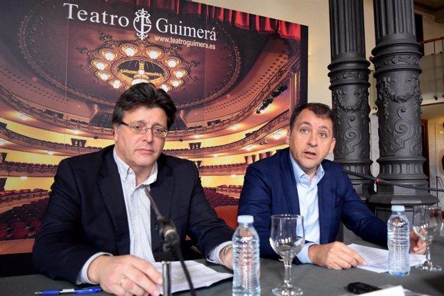 José Carlos Acha y José Manuel Bermúdez